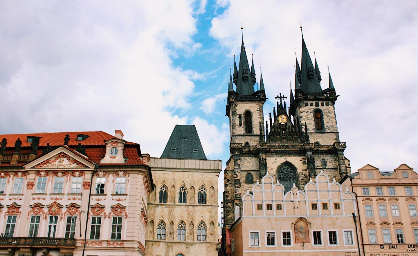 Prague 3 day itinerary with stops in Old Town Square