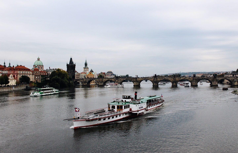 Visit the Charles Bridge during Prague 3 day itinerary