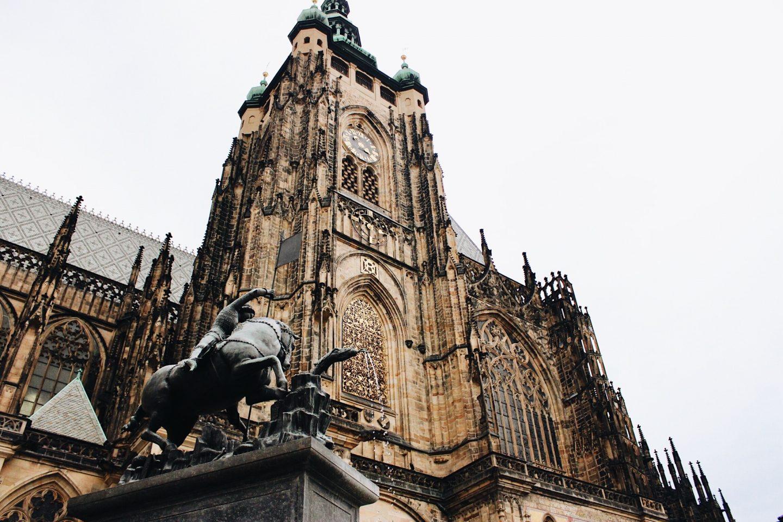 Prague Castle facade