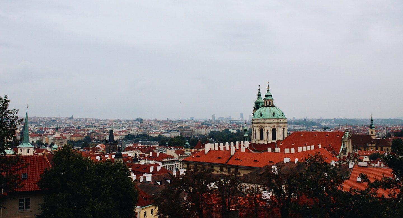 Photo of Prague from the Prague Castle