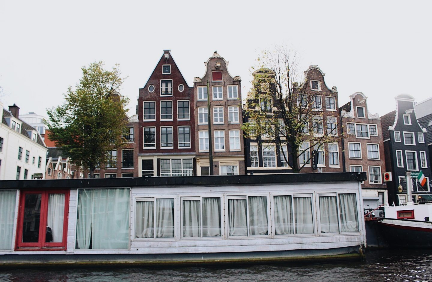 Canal tour during a weekend in Amsterdam