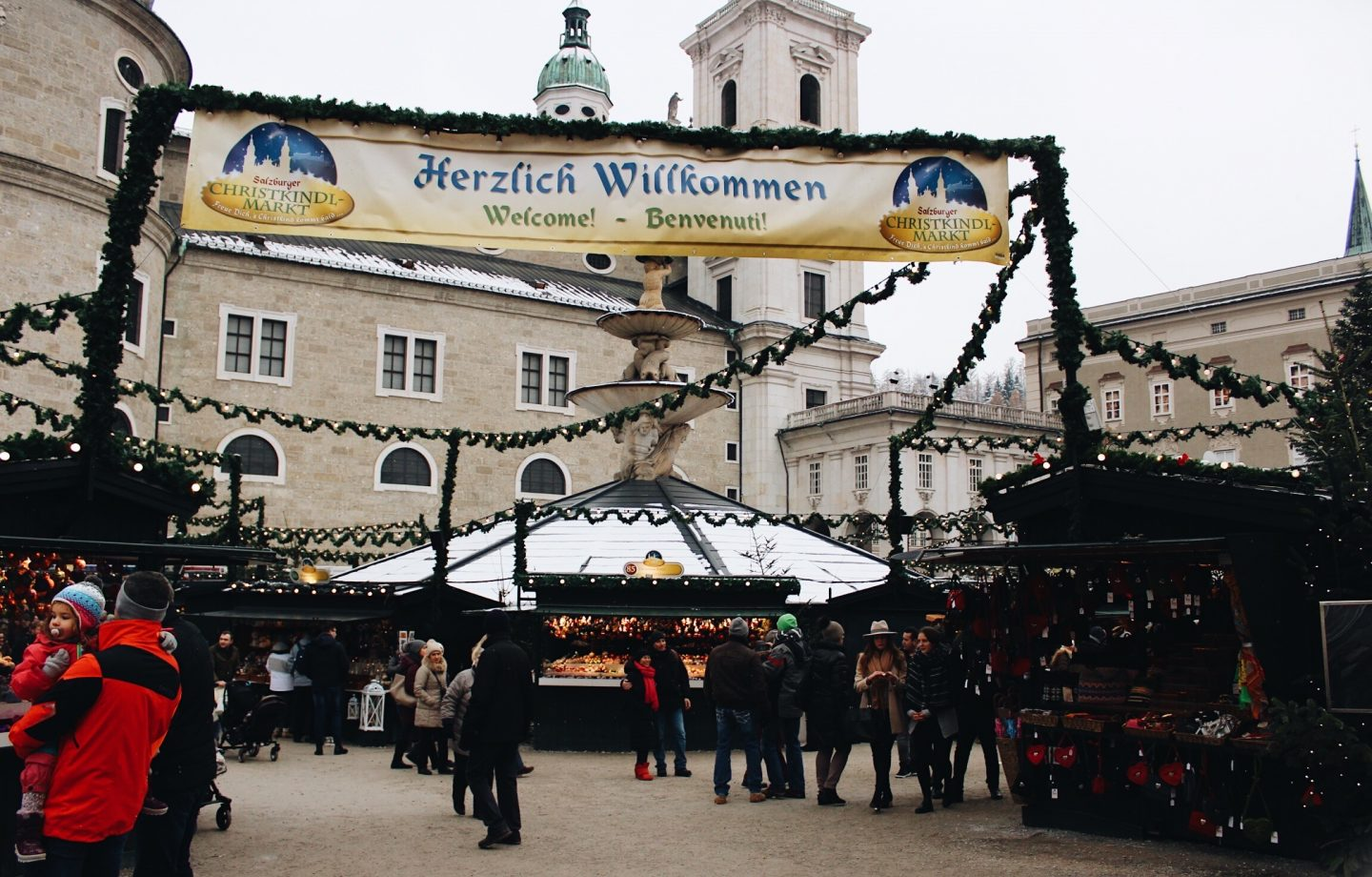 One of the best Christmas Markets in Europe in Salzburg