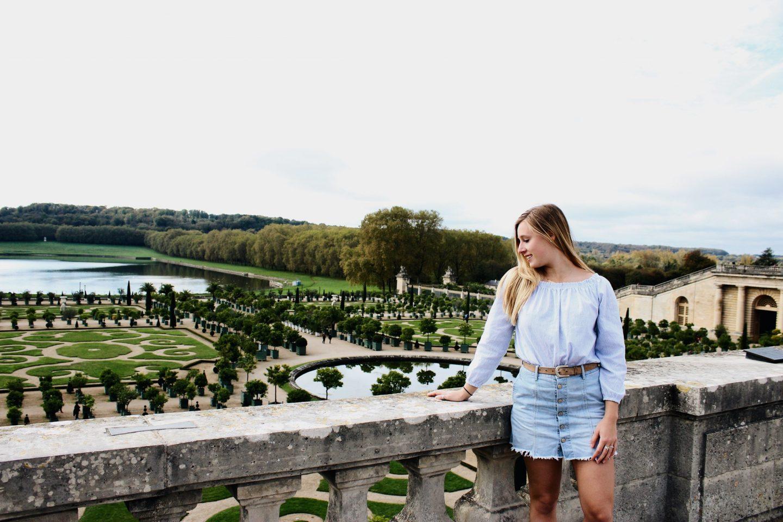 Exploring the gardens of Versailles