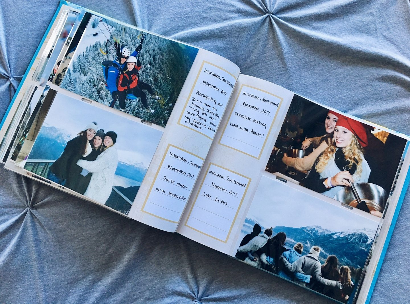 My travel photo album   Gifts for travel lovers