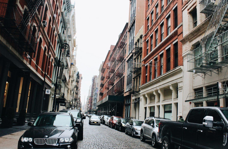 Exploring SoHo in NYC