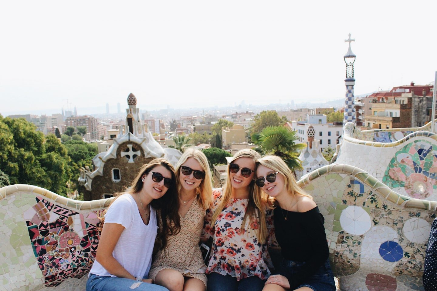 Parc Güell during a weekend in Barcelona on a budget