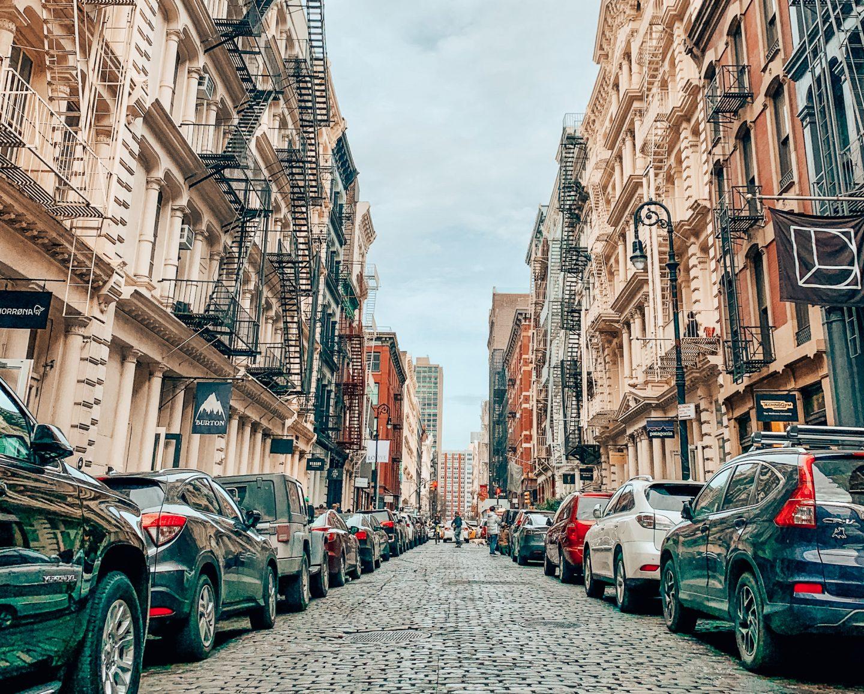 The stunning streets of SoHo