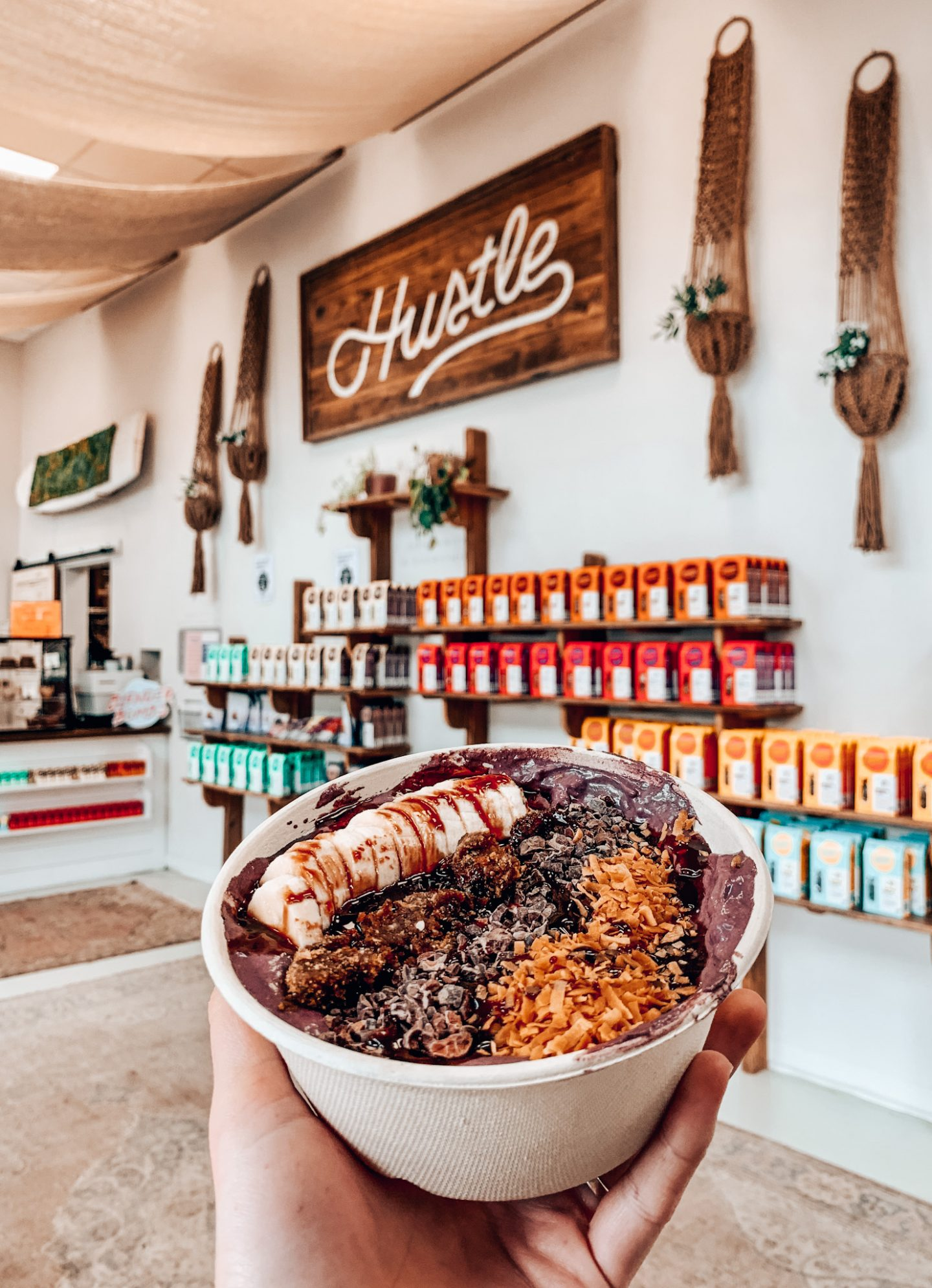 Hustle Smoothie Bar in Charleston, SC