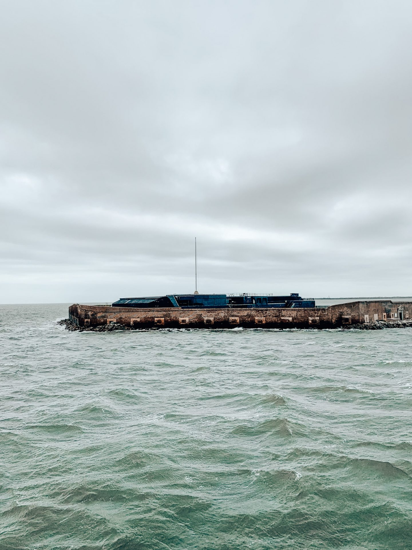 Fort Sumter in Charleston, SC