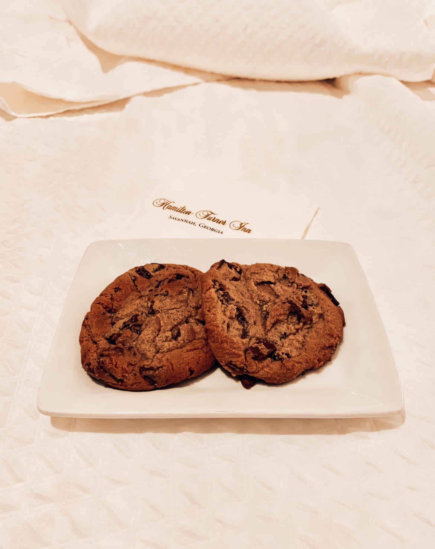 Freshly baked cookies at the Hamilton Turner Inn