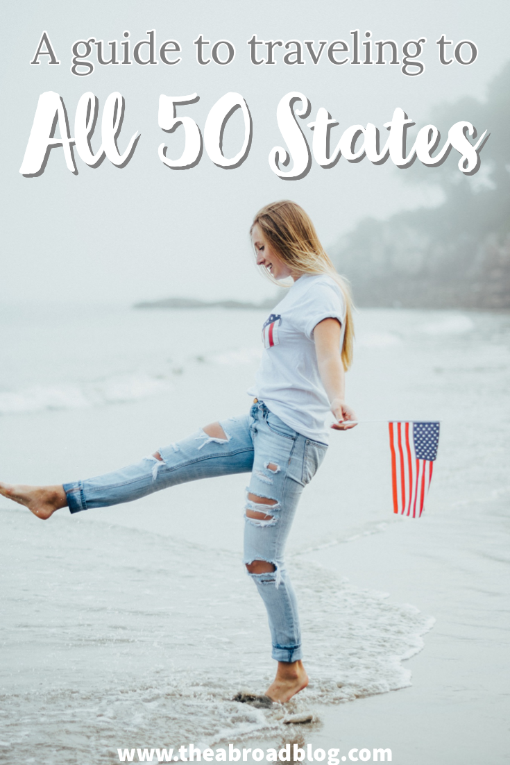 A guide to traveling to all 50 states