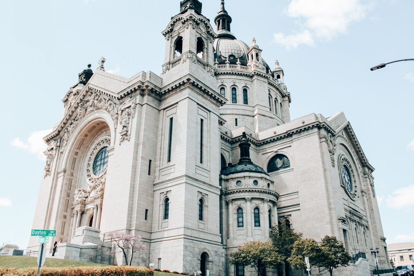 The St. Paul Cathedral is one of the top things to do in Minneapolis, Minnesota