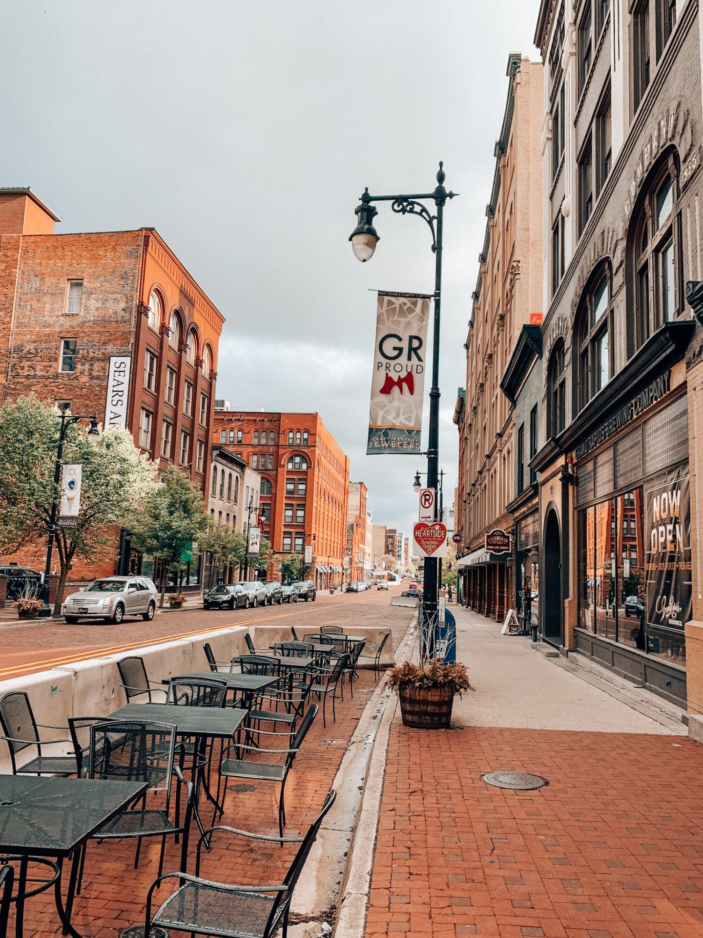 Downtown Grand Rapids, Michigan