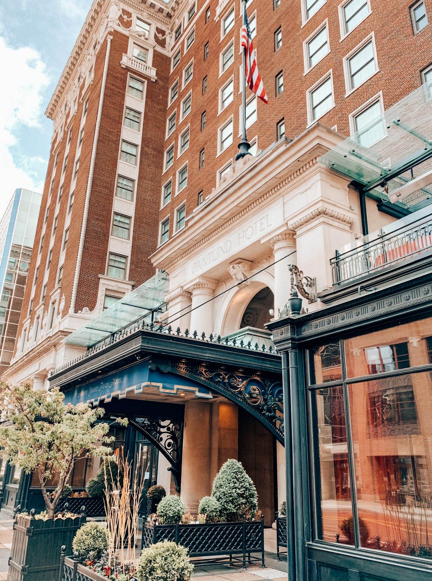 Staying at the Amway Grand in downtown Grand Rapids, Michigan