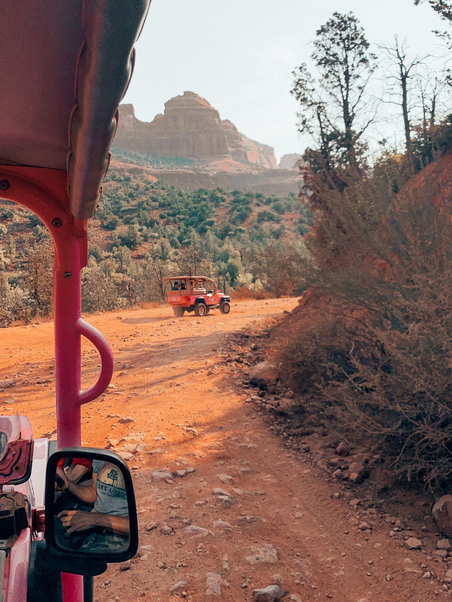 Pink Jeep Tour in Sedona, AZ