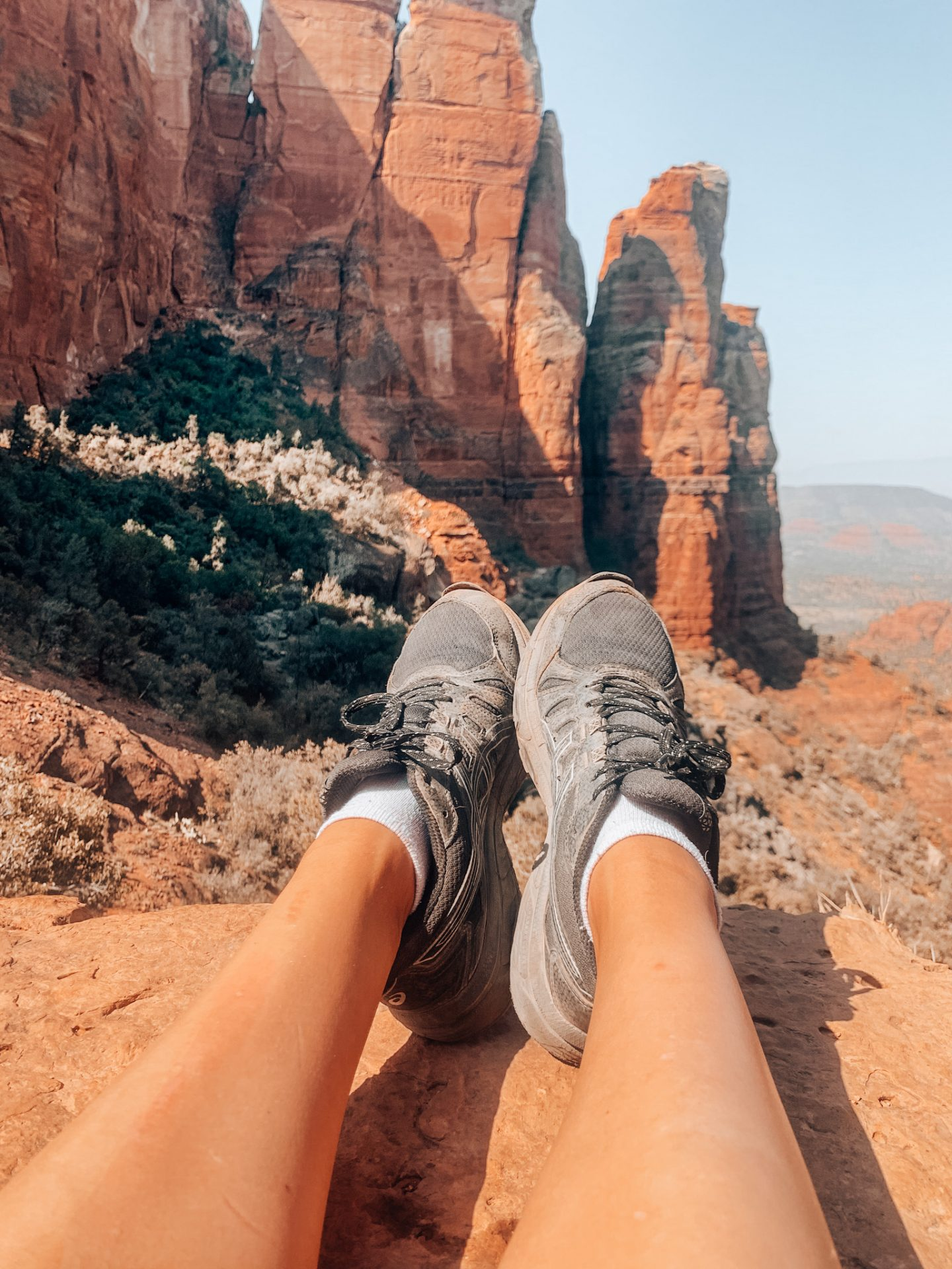 Hiking to Cathedral Rock in Sedona, AZ