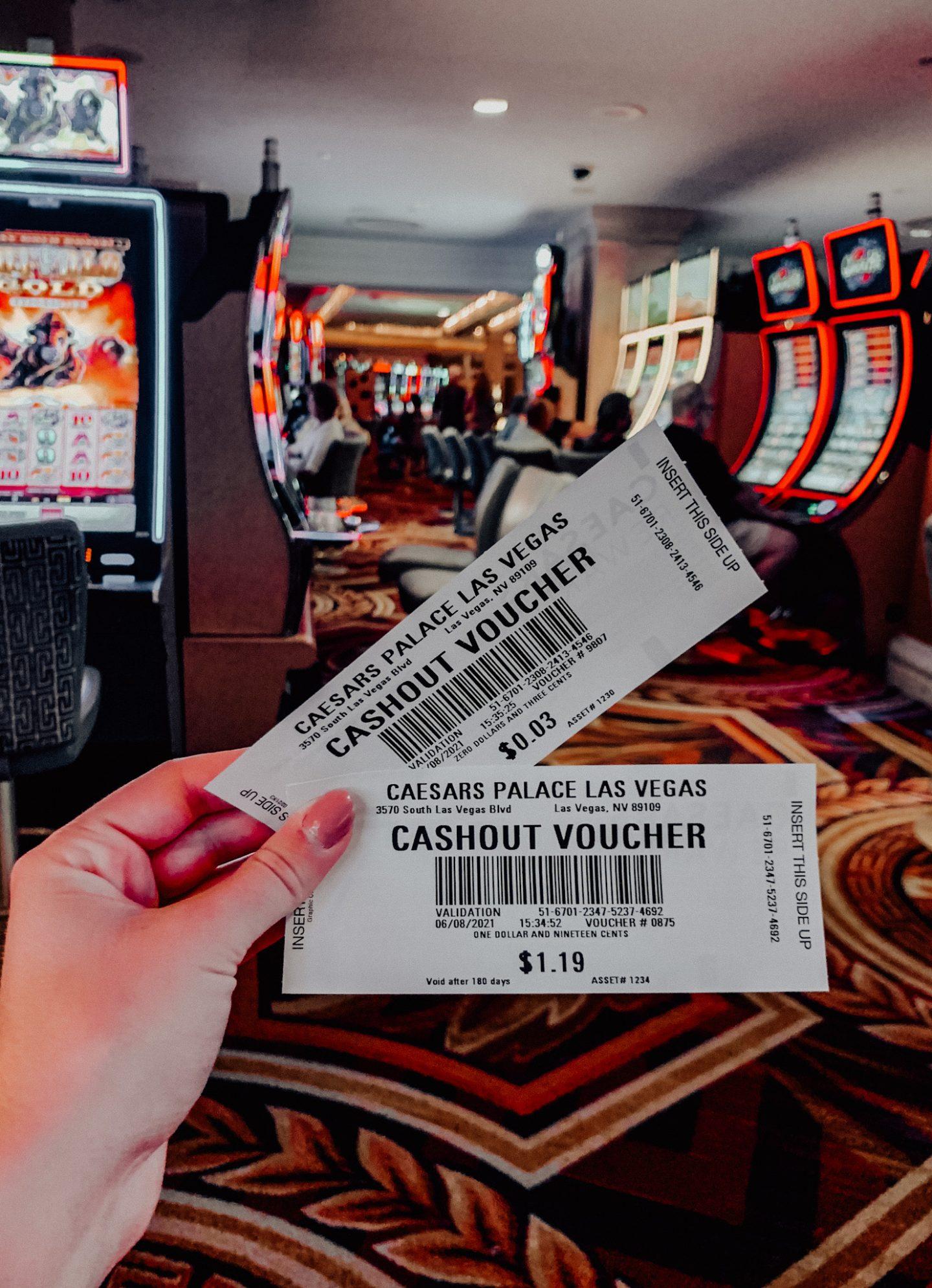 Gambling at Caesar's Palace