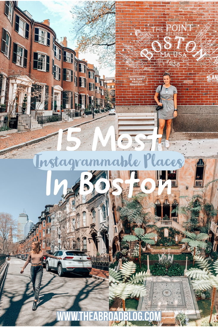 15 Most Instagrammable Locations in Boston
