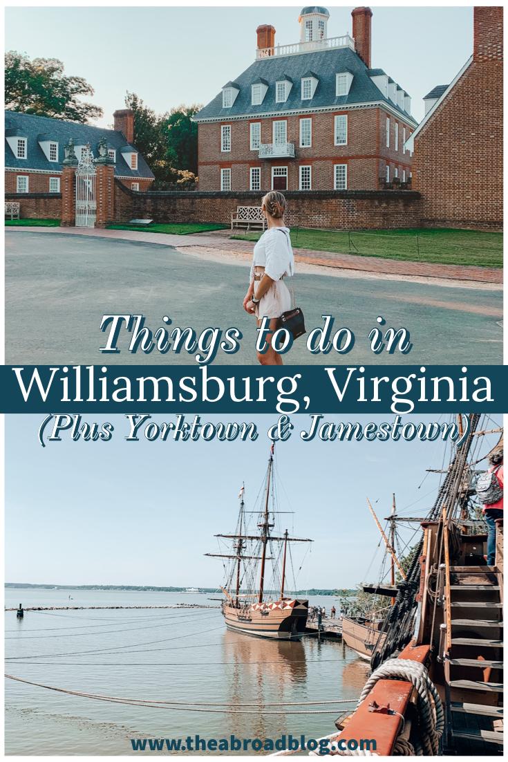 Things to do in Williamsburg, VA
