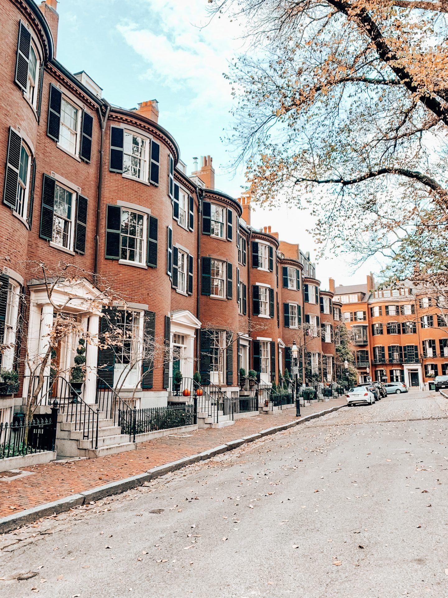 Louisburg Square in Boston, MA
