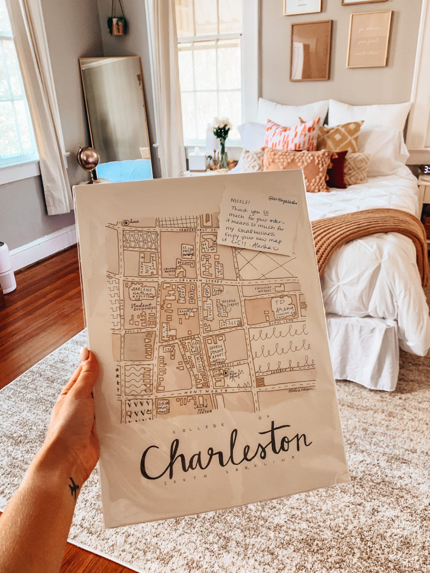 Charleston, SC map